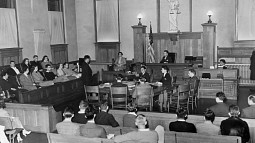 moot court in fenton hall